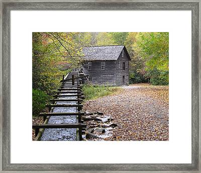 Mingus Mill - Color Framed Print by Fred Baird
