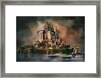 Mont Saint-michel Framed Print by Andrzej Szczerski