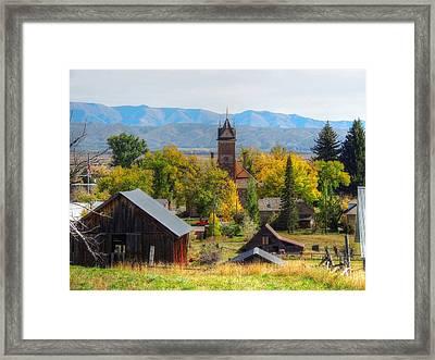 Montpelier Framed Print
