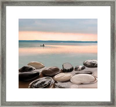 Framed Print featuring the photograph  Morning After The Rain  by Vladimir Kholostykh