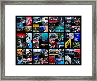 Mustang Art -01 Framed Print by Jill Reger