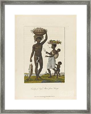 Narrative Of An Expedition Against The Revolted Negroes Of Surinam Framed Print by MotionAge Designs