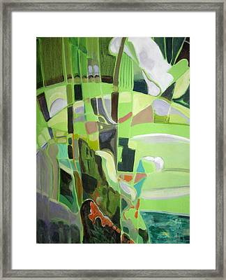 Natura Aroma Framed Print by Therese AbouNader