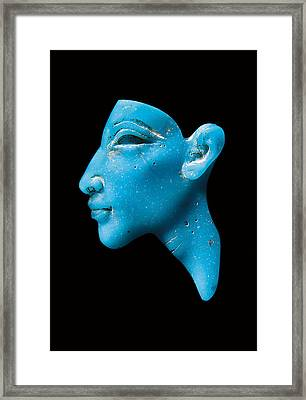 Nefertiti Framed Print by Egyptian School