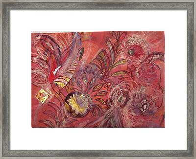 No Central Theme Framed Print by Anne-Elizabeth Whiteway