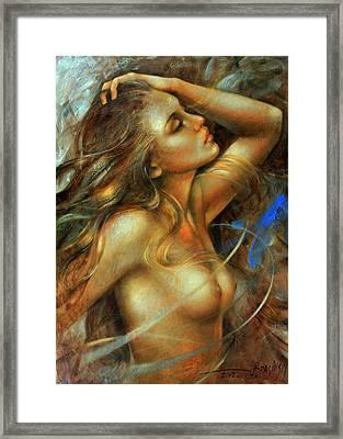 Nuda Framed Print by Arthur Braginsky