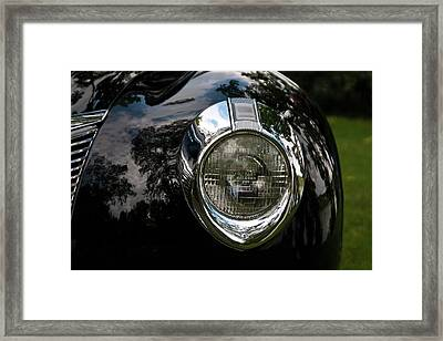 Framed Print featuring the photograph  One Eye 13128 by Guy Whiteley