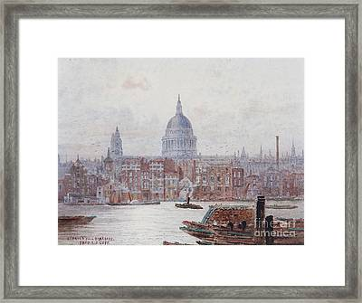 Pauls From Bankside Framed Print by MotionAge Designs