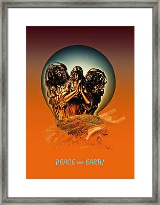 Peace On Earth Framed Print by Gerlinde Keating - Galleria GK Keating Associates Inc