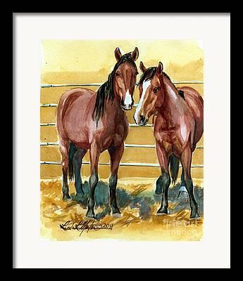 Mustangadaychallenge Framed Prints