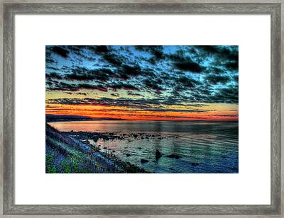 Point North Framed Print by Jack Costello