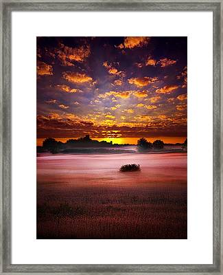 Quiescent  Framed Print