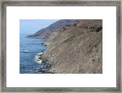 Ragged Point View Framed Print