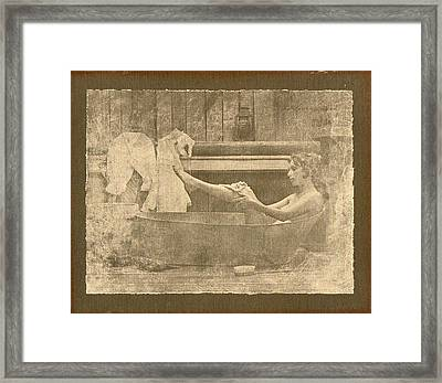 Relaxation  Framed Print by David  Hicks