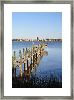 River Reflections II Framed Print