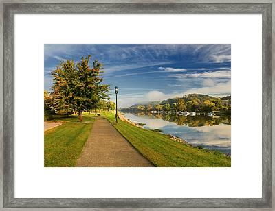 Riverside Dr Framed Print
