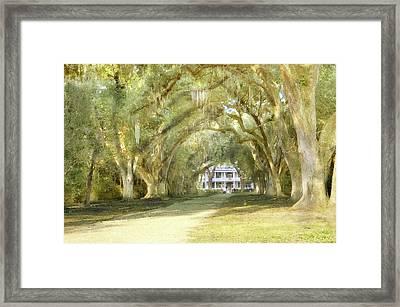 Rosedown Plantation Framed Print