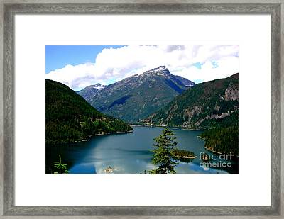 Ross Lake In The North Cascades Framed Print