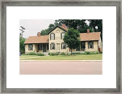 Samuel R. Kingsley House Framed Print by Cheryl Martin