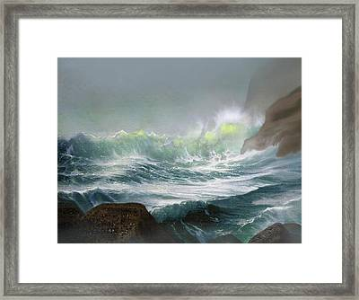 Seaswell Framed Print by Robert Foster