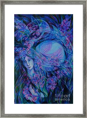 Song Of Lilac Framed Print by Anna  Duyunova