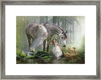 Special Friends Framed Print