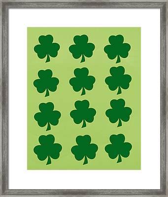 St. Patrick's Day  Framed Print by Art Spectrum