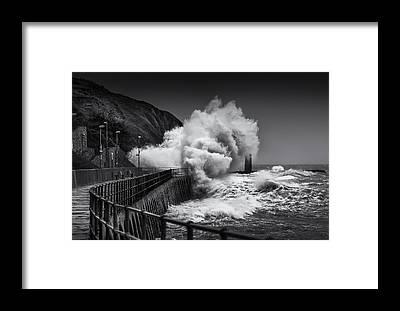 Folkestone Harbour Framed Prints