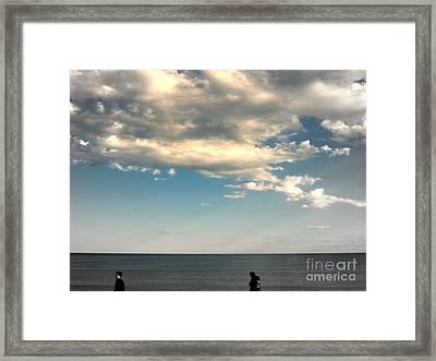 Stray Framed Print by Irene Spedicato