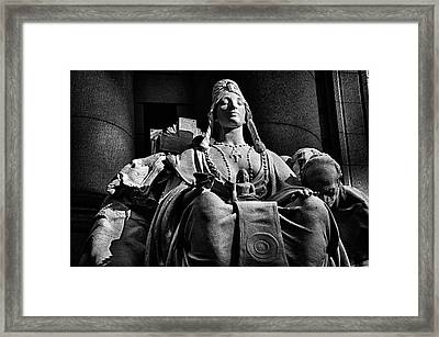 Sun Spot No 10 Framed Print by Val Black Russian Tourchin