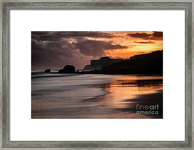 Sunrise At Sandhaven Framed Print by Ray Pritchard