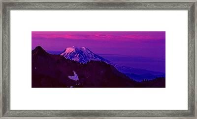 Sunrise Panorama Framed Print by Ansel Price