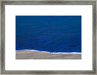 Surfline Framed Print