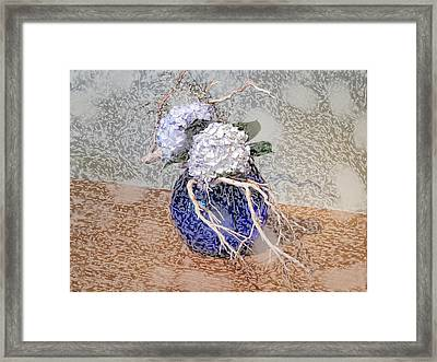 Surrealistic Blue  Framed Print