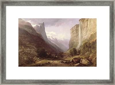 Swiss Scene Framed Print