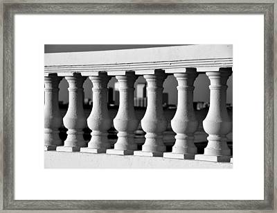 Tampa Bay Balustrades Framed Print by David Lee Thompson