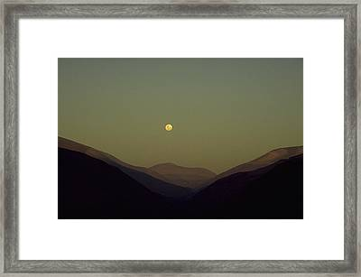 The Andes Mood Framed Print