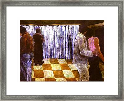 The Banquet Framed Print by Lu-d Huang