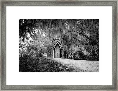 The Baughman Center Framed Print