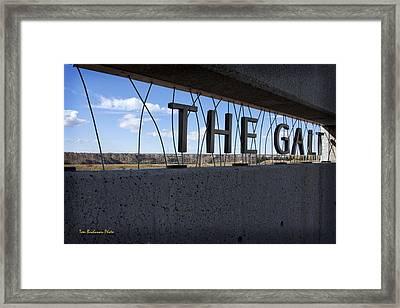 The Galt Museum Framed Print