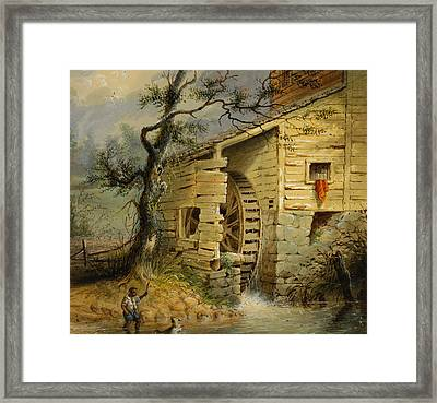 The Old Mill Framed Print by Celestial Images