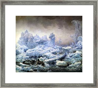 The Walrus Hunt  Framed Print by MotionAge Designs