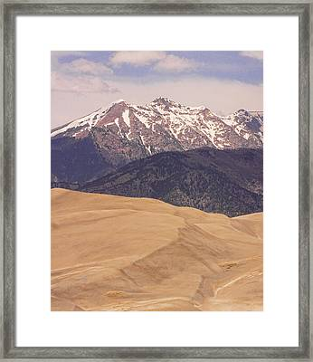 The Wind Carries Sand And Rocks From Many Miles Away. The Dunes Contain Areas Of Black Sand Which A Framed Print by James BO  Insogna