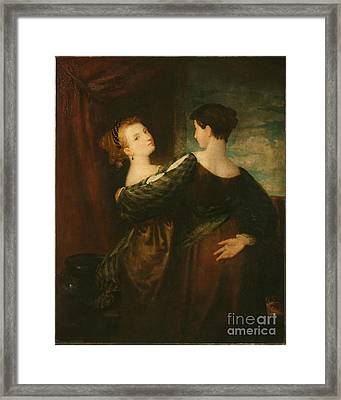 The Sisters Framed Print by MotionAge Designs