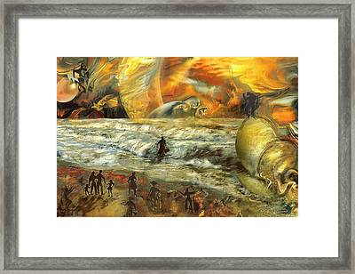 To The End Of The World Framed Print by Anne Weirich