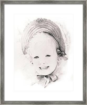Trudy Framed Print by Rachel Christine Nowicki