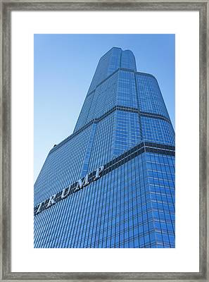 Trump Tower, Chicago. Framed Print by Art Spectrum
