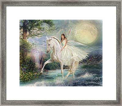 Unicorn Magic Framed Print