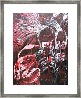 Vengence Framed Print by Randall Ciotti