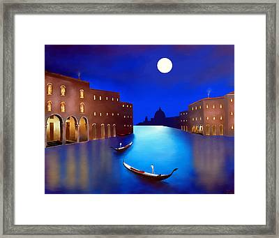 Venice Nights Framed Print